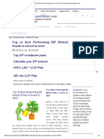 Top 10 Best Performing SIP Mutual Funds to Invest in 2016 _ Myinvestmentideas