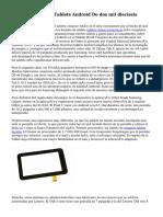 Las cinco Mejores Tablets Android De dos mil dieciseis