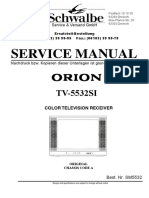 Orion Tv5532si - Oecf010a , Stv2247c - Tv Sm