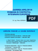 Gospodarirea apelor in Romania in contextul integrarii europ.ppt