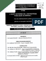 3- LAudit Externe de Lentreprise Publique Au Maroc Cas Des Établissements Publics Gérant Un Monopole