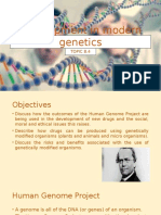 Development in Modern Genetics