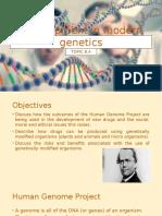Development in Modern Genetics