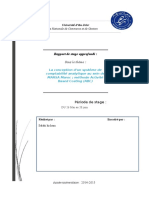 Rapport de Stage-Méthode ABC