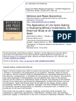 The Application of Life Cycle Costing