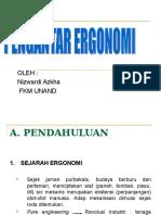 3. Ergonomi