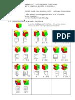Minimum Formula for 3X3X3 Rubik Cube Solution Part 2 - Last Layer Permutation