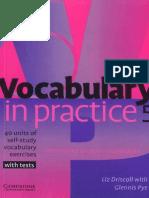 Vocabulary in Practice 5 Int-Upp