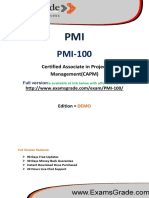 ExamsGrade PMI-100 Latest Questions & Answers