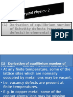 Crystal physics lectures- 2