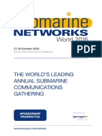 Submarine Networks World 2016 Prospectus