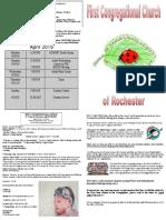 bulletin 4-17-16 gavin dedication