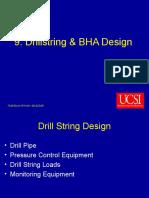 Drillstring & BHA Design