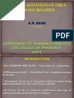 Individualization of drug dosage regimen.ppt