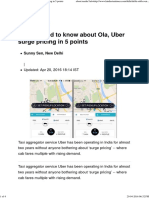 All You Need to Know About Ola, Uber Surge Pricing in 5 Points