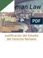 PPT 1° semestre- 2015 Derecho Romano