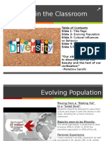 diversity in the classroom pptx