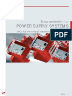 Surge protection for power systems