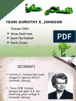 Teori Dorothy E. Johnson