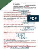 Arranjos, Permutações, Combinações - 2014 - Gabarito.pdf