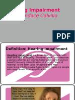 hearing impairment-