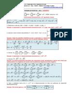 Binomio Newton e Coeficiente Binomial - Gabarito - 2012.pdf