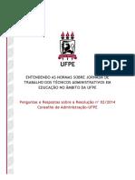 UFPE Perguntas e Respostas