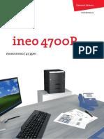 Catalogo Ineo 4700P