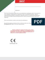 Manual de Operação e Manutenção Empilhadeira Henry