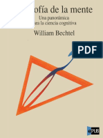 William Bechtel. Filosofía de La Mente