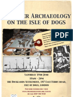 Discover Archaeology on the Isle of Dogs