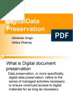 Digital Data Preservation