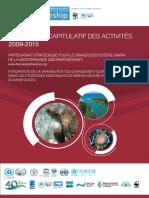 Rapport Recapitulatif 2009-2015