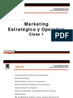 UTN Mktg Estrategico y Operativo 2015 Clase 1.pdf