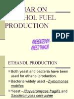 Alcohol Fuel Production