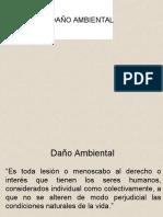 DAÑO AMBIENTAL