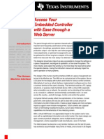 Access Your Embedded Controller with Ease through a Web Server