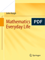Mathematics in Everyday Life - 1st Edition (2016)
