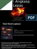 SCES3033 Bumi dan Angkasa Lepas Teori Angkasa Lepas