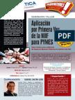 Aplicacion Por Primera Vez de La NIIF Para PYMES