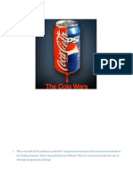 Internationalizing the Cola Wars (a)