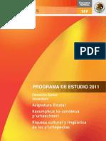 Riqueza Cultural y Linguistica de Los Purepechas