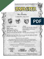 Reglamento Warmaster