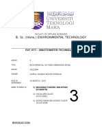 EVT577 Wastewater Exp3 BOD