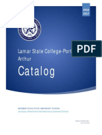 2016-2017 Lamar State College Port Arthur Catalog