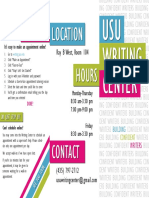 writing center brochure final  2