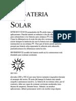 La Bateria Solar