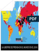 MAPA RSF Libertad de prensa