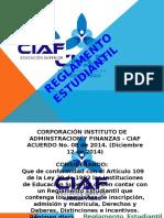 REGLAMENTO ESTUDIANTIL CIAF
