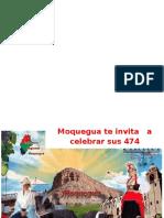 Actividades Festivas Por El Dia de Moquegua